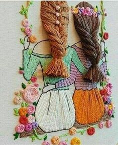 Wonderful Ribbon Embroidery Flowers by Hand Ideas. Enchanting Ribbon Embroidery Flowers by Hand Ideas. Hand Embroidery Videos, Creative Embroidery, Hand Embroidery Stitches, Silk Ribbon Embroidery, Embroidery Hoop Art, Hand Embroidery Designs, Embroidery Ideas, Embroidery Tattoo, Embroidery Supplies