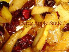Cranberry Apple Sauté