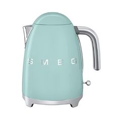 new kettle ✔️~ sooo in love with it ~ SMEG.