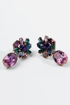 Ashlee Opulent Drop Earrings Stud Earrings, Amanda, Bright, Jewelry, Fashion, Color Combinations, Fashion Clothes, Jewels, Accessories