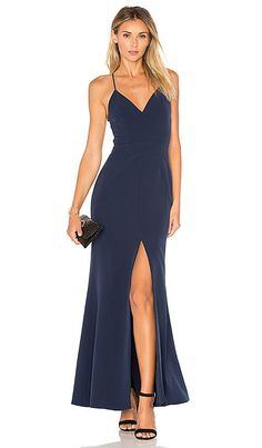 Shop for Lovers + Friends x REVOLVE Helena Gown in Navy at REVOLVE. Free 2-3 day shipping and returns, 30 day price match guarantee.