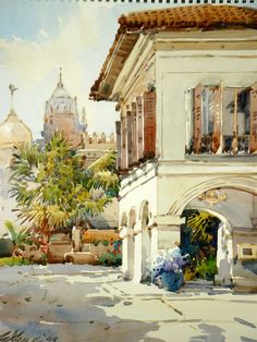 Ong Kim Seng ( b. 1985) Singapore Sultan Mosque from the MalayHeritageMuseum 2009