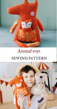 Fox Sewing Pattern PDF Stuffed Animal Fox Plushie PDF Stuffed Toy Plush Softie Fox toy pattern Toy Animal Pattern doll plush tutorial Fox #sewingpattern #foxdolls #foxtoys #kidcrafts Softies, Plushies, Fox Toys, Sewing Toys, Stuffed Toys Patterns, Dinosaur Stuffed Animal, Sewing Patterns, Crafts For Kids, Pdf