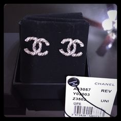 Chanel Earrings Brand new with box and retail tag. No low ball. Thanks. Because of the fee is too high, I have to increase the price but you will get it for $400 on Pal or ♏️. CHANEL Accessories
