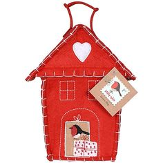 Buy Bobby Robin House with Mallows, 150g online at John Lewis Christmas Crackers, John Lewis, Bobby, Christmas Ornaments, Holiday Decor, House, Stuff To Buy, Home Decor, Christmas Biscuits