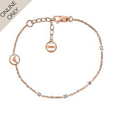 For Her - Emporio Armani Treasures Rose Gold Plated Bracelet - EG3112221