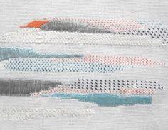 bordados: bordado a mano, handmade embroidery, dunas