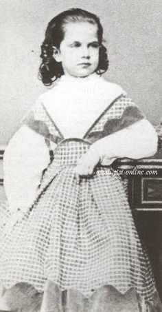 Archduchess Gisela Louise Marie of Austria, second daughter of Franz Josef and Elisabeth