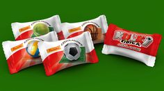 This project was focused on creating the package of sweets, in response to Euro 2012 and sport fan's taste.
