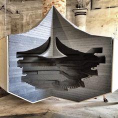 Herzog & de Meuron / Floating Model / Elbphilharmonie / Biennale