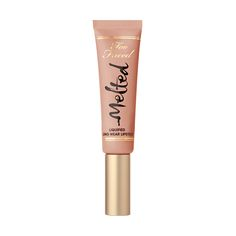 NEW shade: Sugar - Too Faced Melted Liquified Long Wear Lipstick