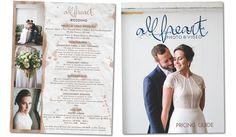 All Heart Photo & Video  #smallbiz #publicationdesign #graphicdesign #pricingguide #weddingphotography #pittsburghweddings