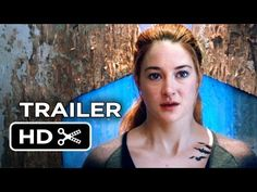 Divergent Official Trailer #1 (2014) - Shailene Woodley, Theo James Movie HD - Ahhhhh! It looks so good, I can't wait! :D