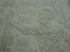 Quilted bedcover, Italy, 1355-1400. Museum no. 1391-1904. | Flickr - Photo Sharing!