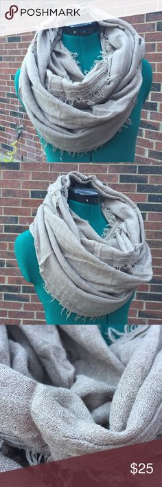 NEW Infinity Scarf NEW Great Gift Color: Light Brown 50% Cotton/ 50% Polyester Please ask if you have questions BEFORE buying to avoid problems. Happy Shopping :) Accessories Scarves & Wraps