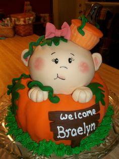 Baby shower cake I made for Latecia Burnett.  All edibile!  ---Tina Johnson (Save Room For Cake!)