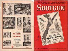 1955 movie posters   SHOTGUN PRESSBOOK