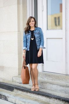 How to wear a denim jacket in spring 50+ outfits you can copy #springfashion #outfit
