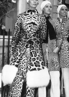 c. 1960's- animal print is a go to, on brainer still