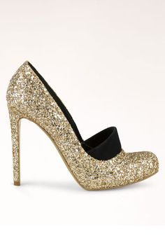 stella mccartney glitter pump #vegan