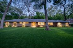 This 1950s ranch style home sits on nearly one-third acre in Kessler Park and features three bedrooms, two bathrooms, two living areas, two dining rooms, a back patio that includes an outdoor fireplace and more.
