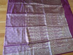 With their heavy zari work, thick gauge silk, and beautiful embroidery, Banarasi silk saris are a paradigm of opulence among Indian saris. pure banarasi silk saree in Purple colour with all over heavy hand embroidry with resham work.Banarasi saree is well known for its elegant look worldwide and its a perfect dress for wedding.