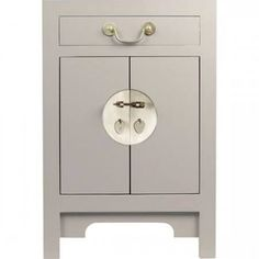 trunk bedside table - Oyster £149.99