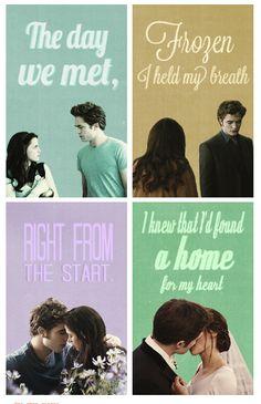 Edward y Bella <3