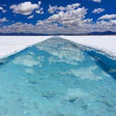 本当は教えたくない秘境!ウユニ塩湖にも負けない「サリーナス・グランデス」が素敵すぎる 4枚目の画像
