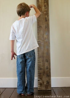 great round up of growth chart ideas & tutorials ... from inspire me, heather!