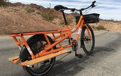 The New Yuba Sweet Curry Is a Pedal-Powered Cargo Dream