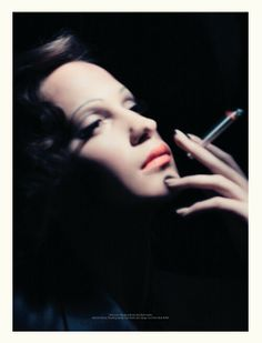 Alicia Vikander as Marlene Dietrich by Paolo Roversi for Acne Paper. WOW!