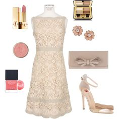 Lace Valentino and DIAMONDS! ♥, created by ljwhitlock on Polyvore