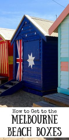 Have you seen the photos of the colourful beach boxes at Brighton Beach in Melbourne? This explains how to get there Australia Tourism, Australia Travel Guide, Australia Beach, Melbourne Australia, Australia Honeymoon, Australia 2017, Visit Australia, Queensland Australia, Victoria Australia