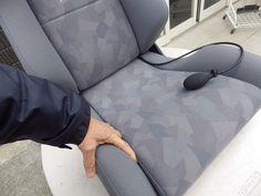 座面のクッションの 構成を表しております 重要なポイントです。