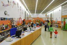 Sala infantil de la Biblioteca Nou Barris de Barcelona