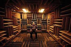 Sala mais silenciosa do mundo enlouquece você em 45 minutos