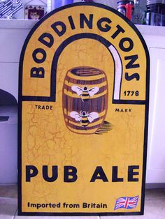 Boddingtons is creamy goodness from the pub tap