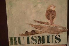 Serie vogels: huismus
