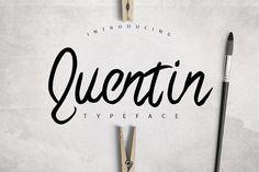 Quentin Typeface Free Font | Font Bundles