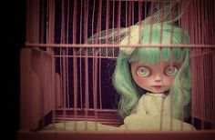 Blythe #doll #turquoise #hair