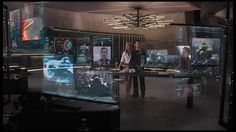 "Tony and Pepper in Stark Tower (scene from ""The Avengers""). and Gwyneth Paltrow. Hologram Technology, Futuristic Technology, Technology Design, Medical Technology, Energy Technology, Technology News, Autocad, Tony And Pepper, Stark Industries"