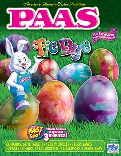 15 Best Vintage PAAS Egg Decorating Kits #TBT images | Easter egg ...