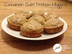Cinnamon Swirl Protein Muffins @Cellucor