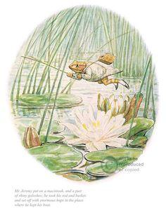 'Jeremy Fisher' by Beatrix Potter