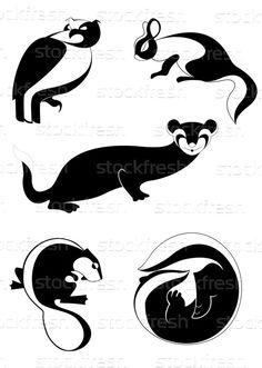 животные · иллюстрация · животного · коллекция · дизайна - Векторная графика © Александр Герасимов (tiKkraf69) (#4717233) | Stockfresh