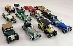 Matchbox Yesteryear Vintage Toy Car Collection Thirteen Cars – 1970-80's #Matchbox #MixedCollection