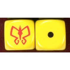 Monarch Custom Engraved Dice PAIR, d6, six sided, Venture Brothers Cartoon Listing in the Dice & Dice-Based Games,Games,Toys & Hobbies Category on eBid United States | 146104972