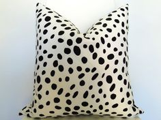 Dalmatian Spotted Pillow Cover -