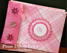 DIY Baby Mini Photo Album and Design Team Challenge!